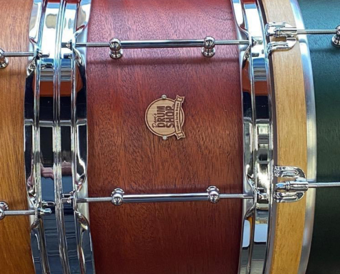 Mahogany snare drum